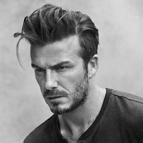 David Beckham Stylish Hair 2015