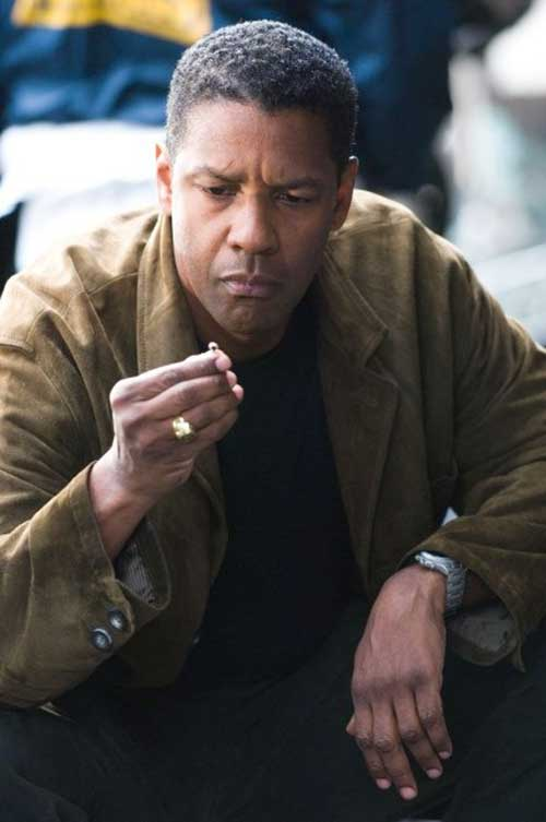 Denzel Washington Good Short Haircuts