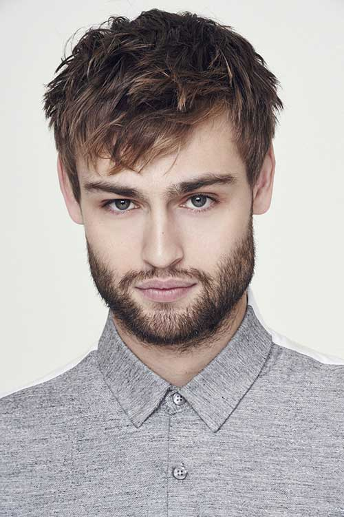 Douglas Booth Haircuts