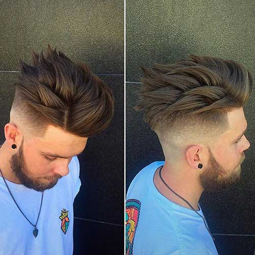 Epic Spiky Hairstyle for Men