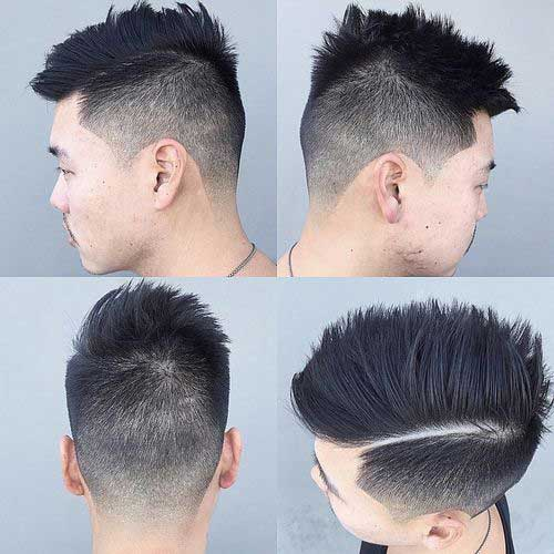 Best Faded Hairstyles Asian Men