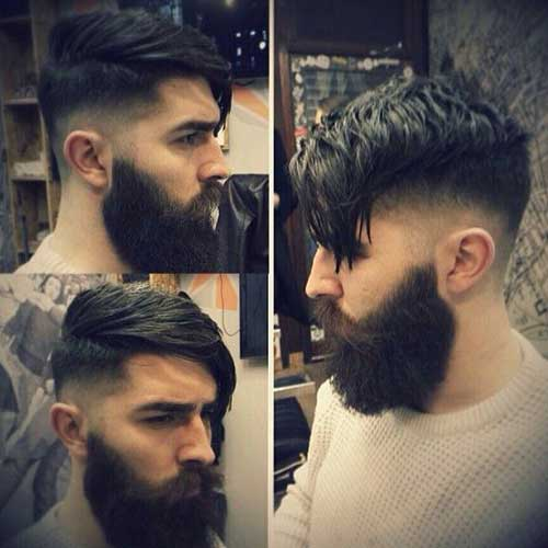 Faded Thick Hairstyle Pics for Men