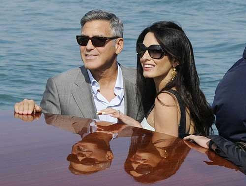 George Clooney Grey Hairstyle