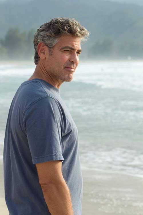 Best George Clooney Hair Style