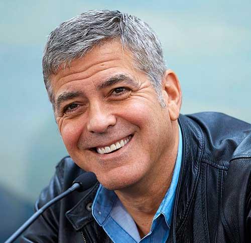 Best George Clooney Hair for Older Men