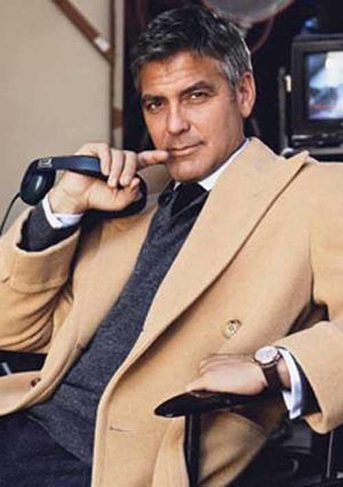 20+ George Clooney Hair