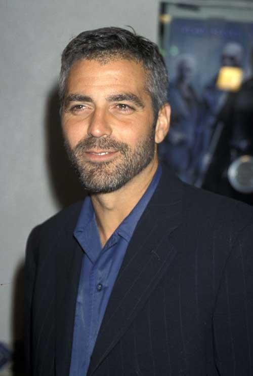 George Clooney Short Cut Hair Idea