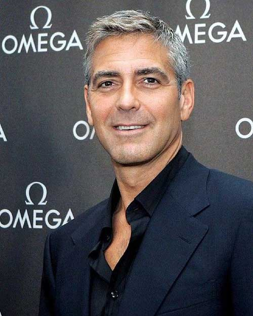 George Clooney Short Cut Nice Hair Ideas