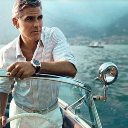 George Clooney Trendy Hair Cuts