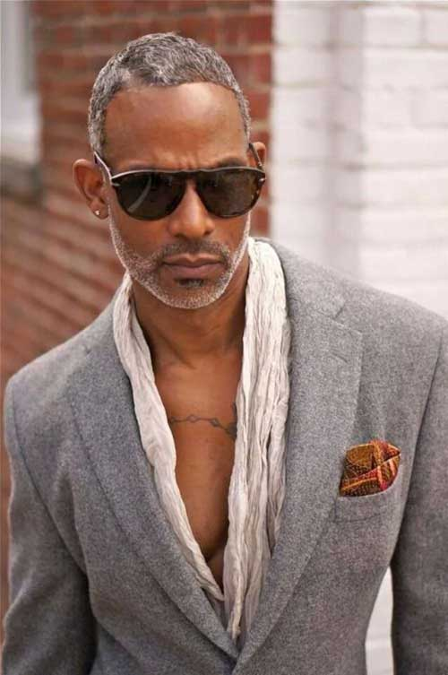 Good Grey Hair Black Men