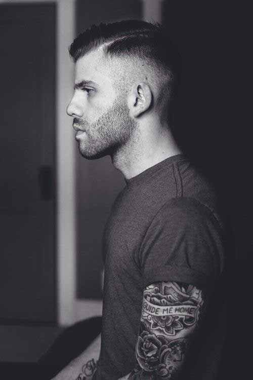 Great Short Shaved Side Hairstyles for Men