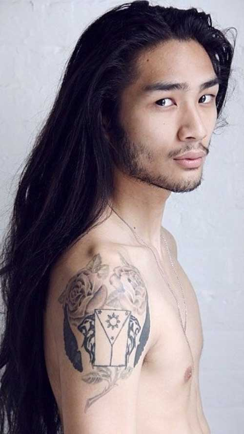 Best Hair Styles for Asian Men with Long Hair