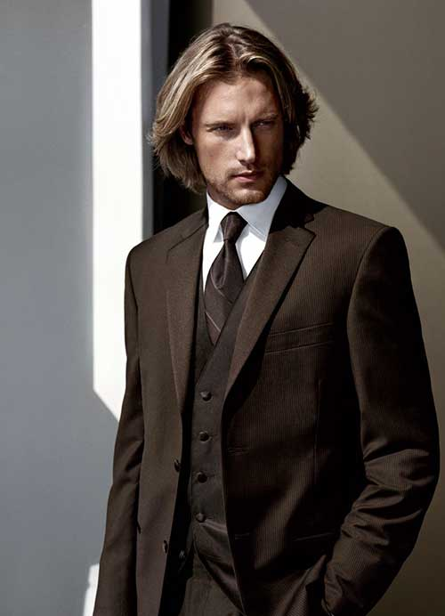 Classy Hair Styles for Guys with Long Hair