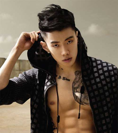 Cool Hairstyle Men Asian