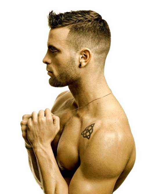 Fade Cut Hairstyle for Men