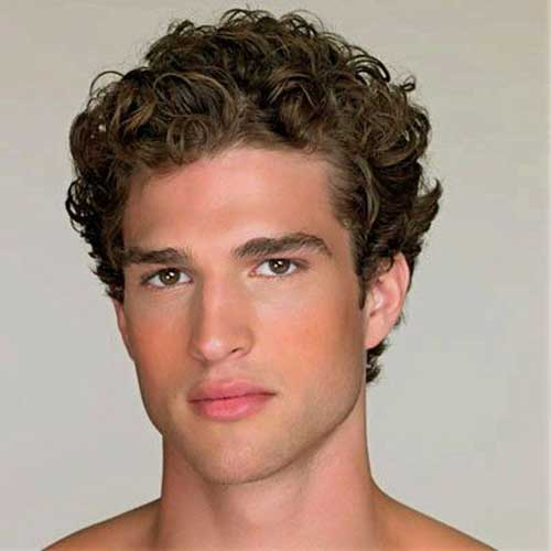 Trendy Hairstyles for Men with Thick Curly Hair