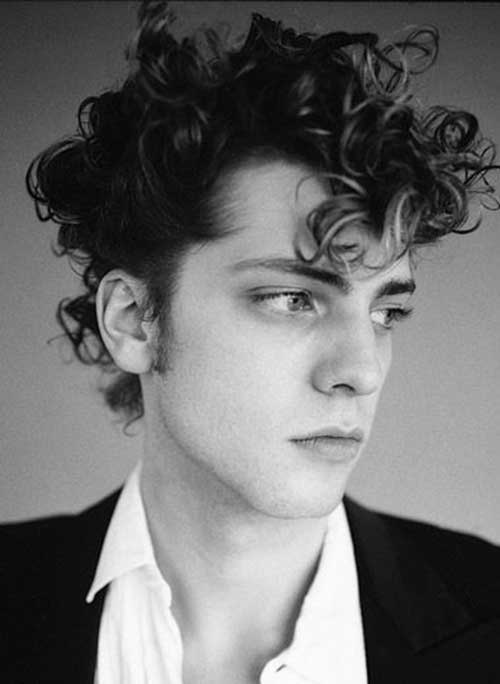 Brilliant 10 Mens Hairstyles For Thick Curly Hair Mens Hairstyles 2016 Hairstyle Inspiration Daily Dogsangcom