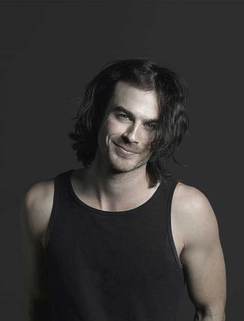 Ian Somerhalder Long Hairstyles