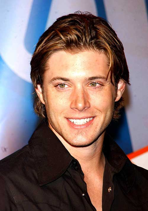 Jensen Ackles Long Hairstyles