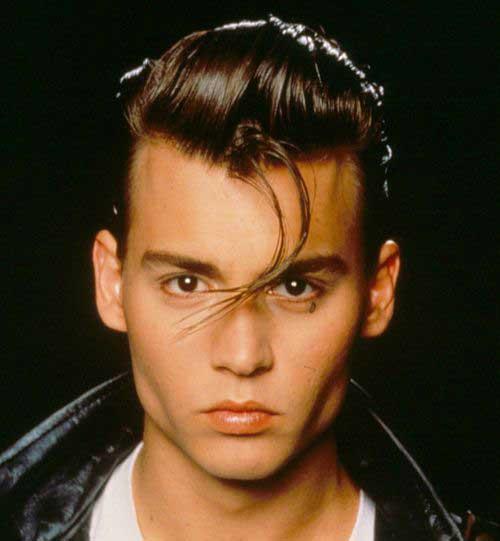 Johnny Depp 50s Style Hair Styles