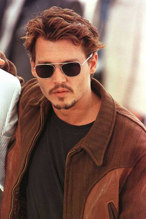 Johnny Depp Haircuts