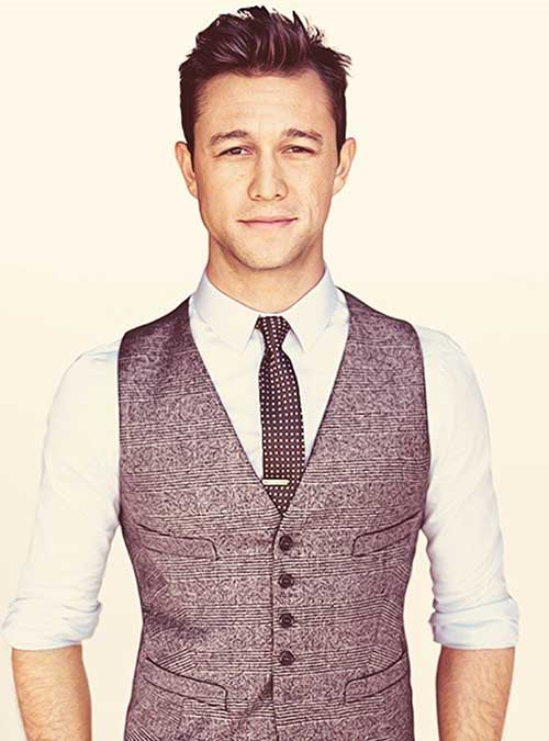 Joseph Gordon Levitt Hairstyle 2015
