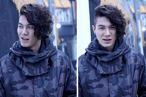Best Korean Asymmetrical Cut Hairstyle for Men