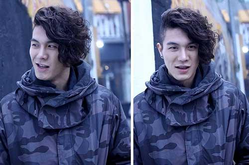 Best Korean Asymmetrical Cut Hairstyle for Men