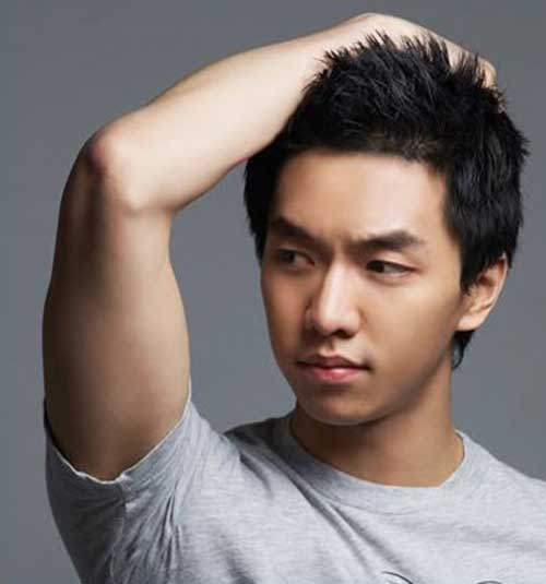 Korean Casual Short Hairstyle for Men