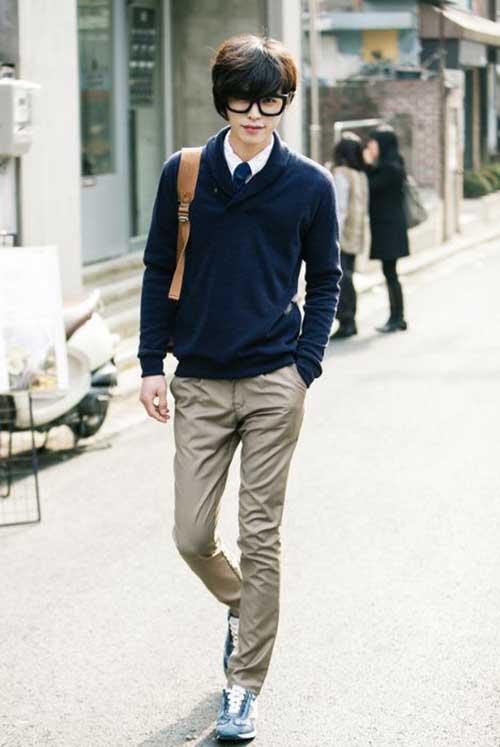 Korean Fashionable Hairstyle for Men