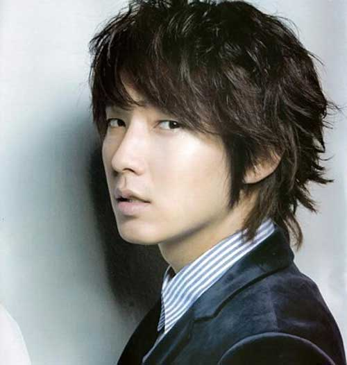 Korean Long Hairstyle for Men