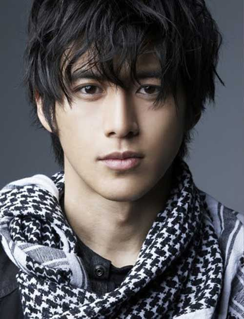 Korean Men Hairstyle with Bangs