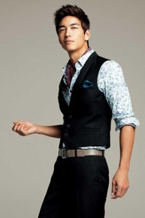 Latest Korean Short Hairstyle for Men