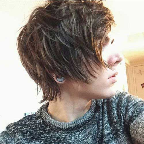 Best Layered Hair Style for Boys