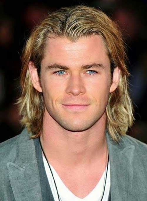 Cool Long Blonde Hairstyles for Men