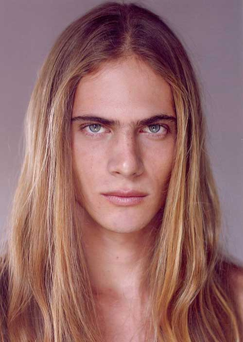 Long Blonde Hairstyles for Men 2015