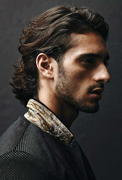 Coolest Long Dark Hairstyles for Men
