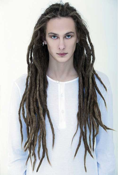 Long Dreadlocks Hair Guys Hairstyles