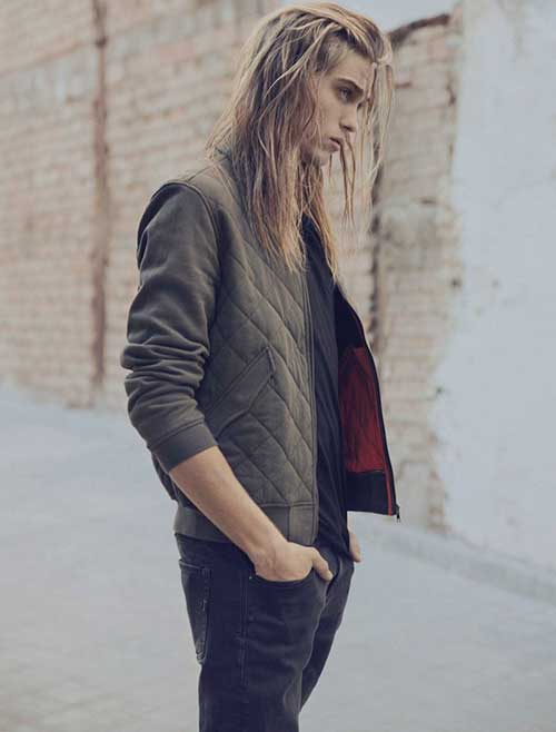 Best Long Hair Men Style
