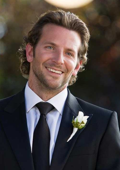 Bradley Cooper with Long Hair