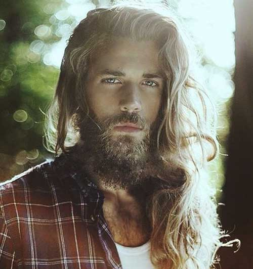 Best Long Messy Hair for Guys