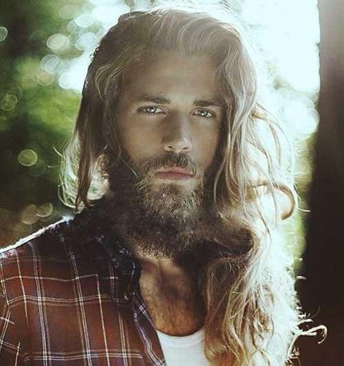 Best Long Messy Hair for Guys