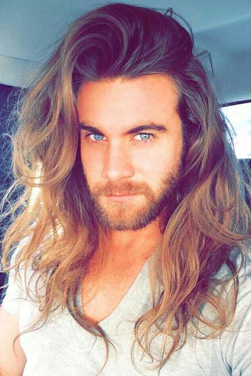 Best Long Wavy Hair for Guys