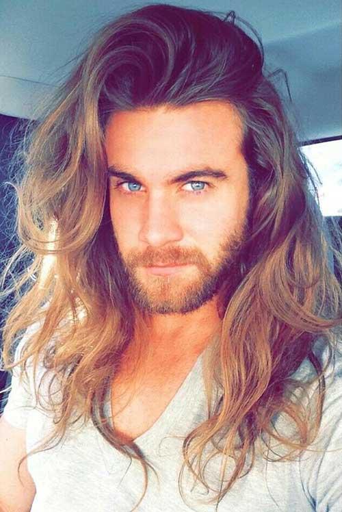 Best Long Wavy Hair for Guys