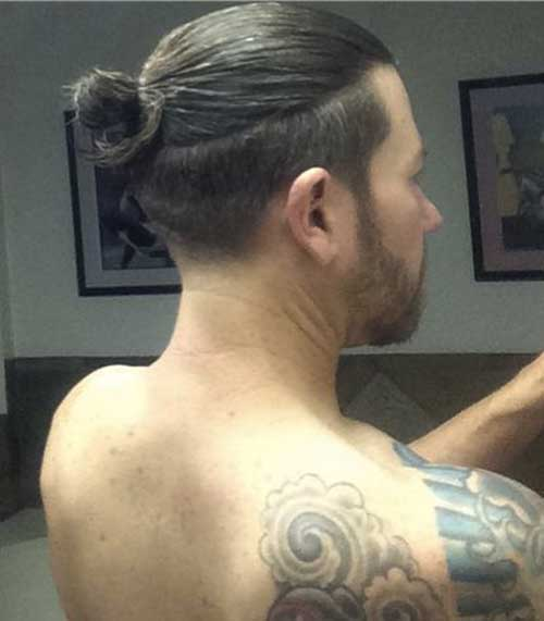 Unique Man Bun Undercut