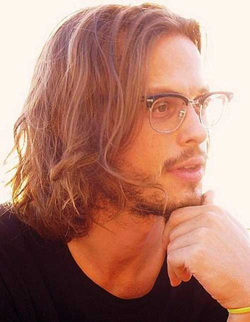 Matthew Gray Gubler Long Hair Styles