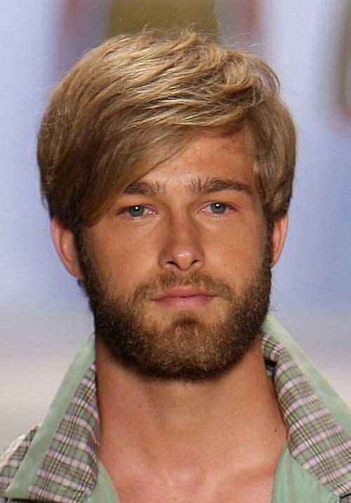 Medium Thick Hairstyles for Men