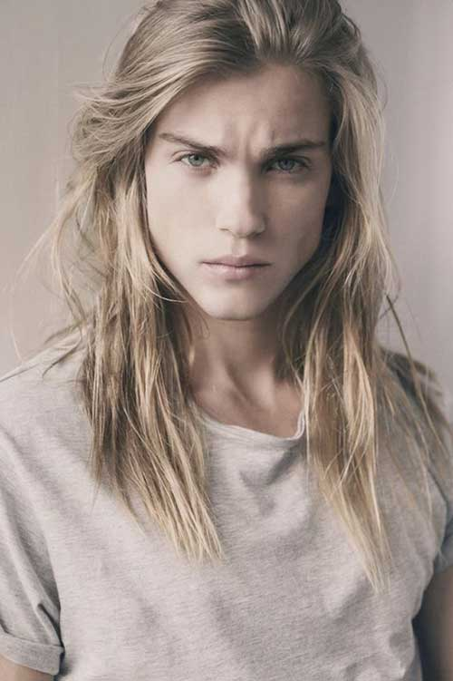 Men Blonde Long Hair Styles