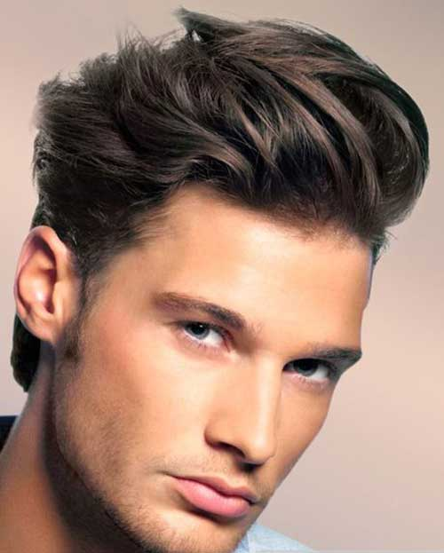Men Cool Medium Hair Style Ideas