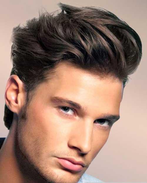 Men Cool Medium Hair Style Ideas